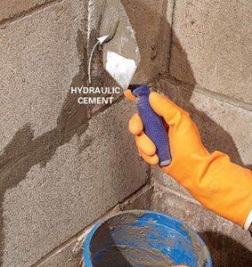 Imperméabilisation des murs de fondation