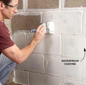 Imperméabilisez les murs